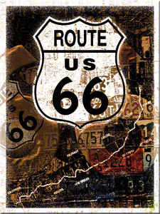 MAGNET ROUTE 66 COLLAGE