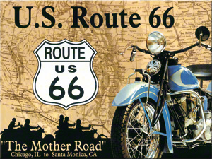 MAGNET ROUTE 66 MAP