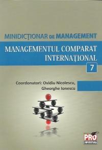 MANAGEMENTUL COMPARAT INTERNATIONAL