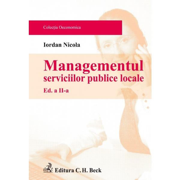 MANAGEMENTUL SERVICIILO R PUBLICE LOCALE . EDIT