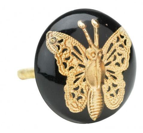 Maner fluture  Lisbeth Dahl, negru,061