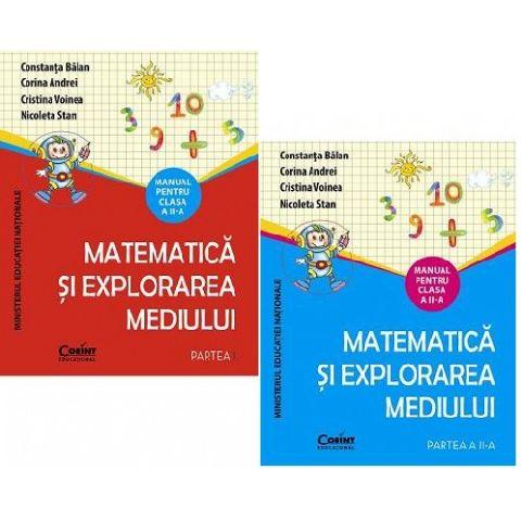 MANUAL CLS. A II-A MATEMATICA SI EXPLORAREA MEDIULUI + CD - 2 VOL