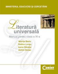 MANUAL CLS. A XI-A LITERATURA UNIVERSALA