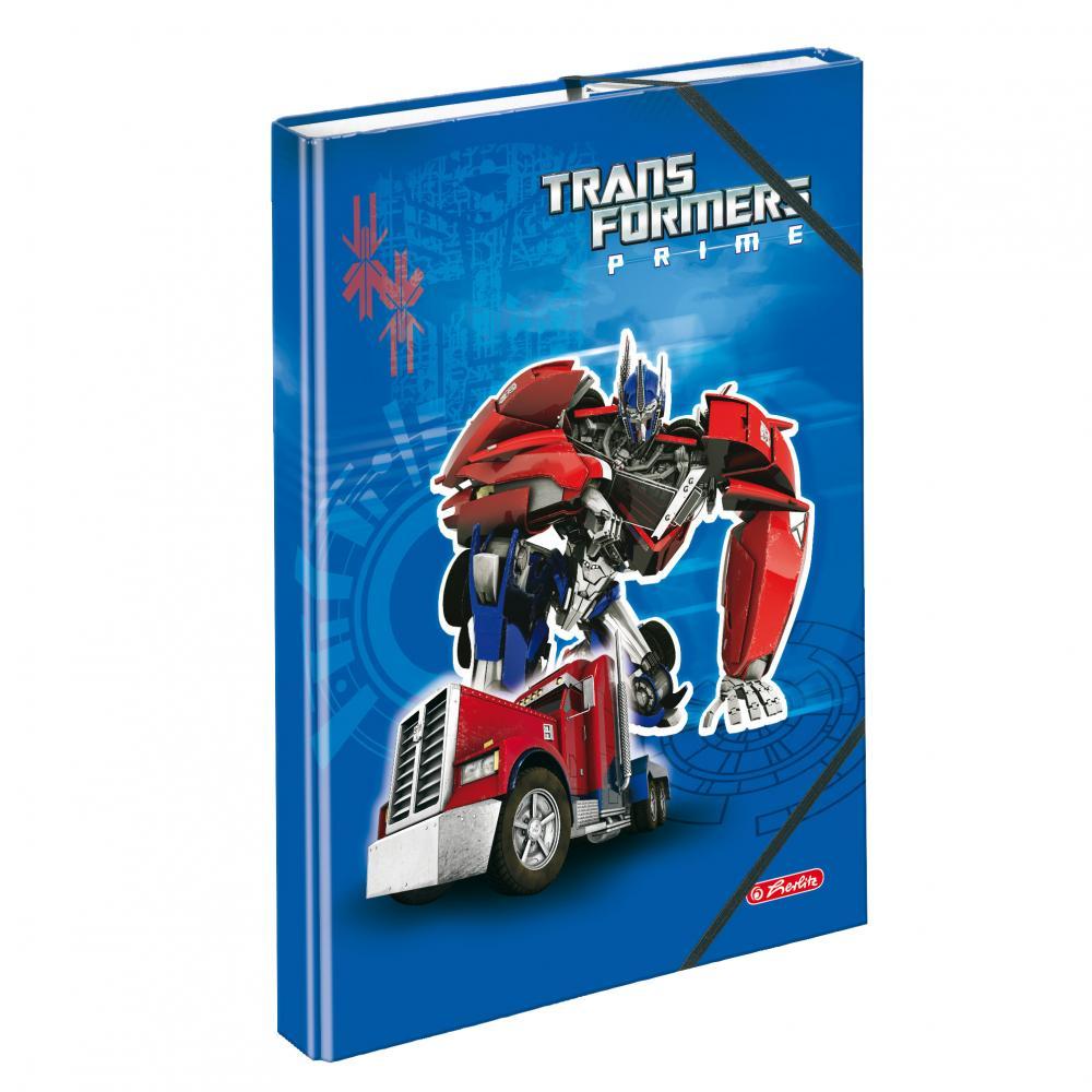 Mapa A4 Transformers,albastru