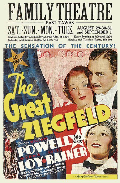 MARELE ZIEGFFELD THE GREAT ZIEGFELD