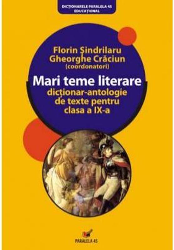 MARI TEME LITERARE 2009 ED. 4