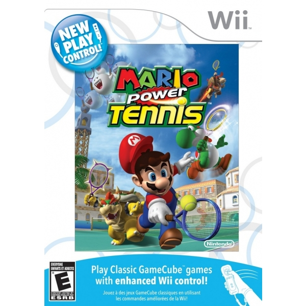 MARIO POWER TENNIS WII