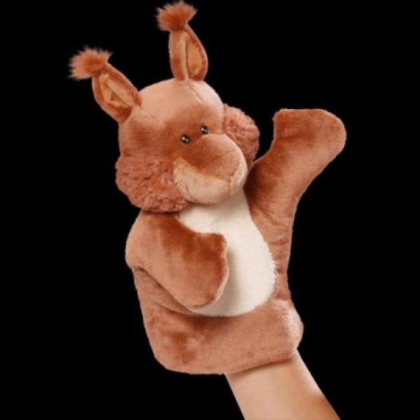Marioneta pentru mana Veverita,26cm