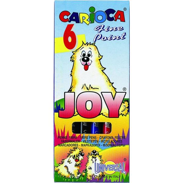 Markere pt copii,6b/set,CariocaJoy