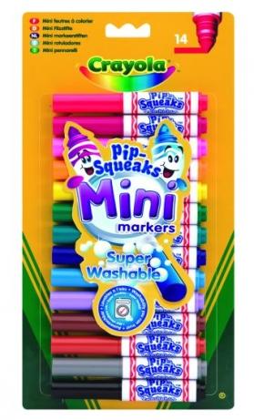 Markere pt copii,14b,Crayola,Pip-Squeaks