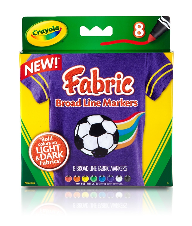 Markere pt textile,8buc/set,Crayola