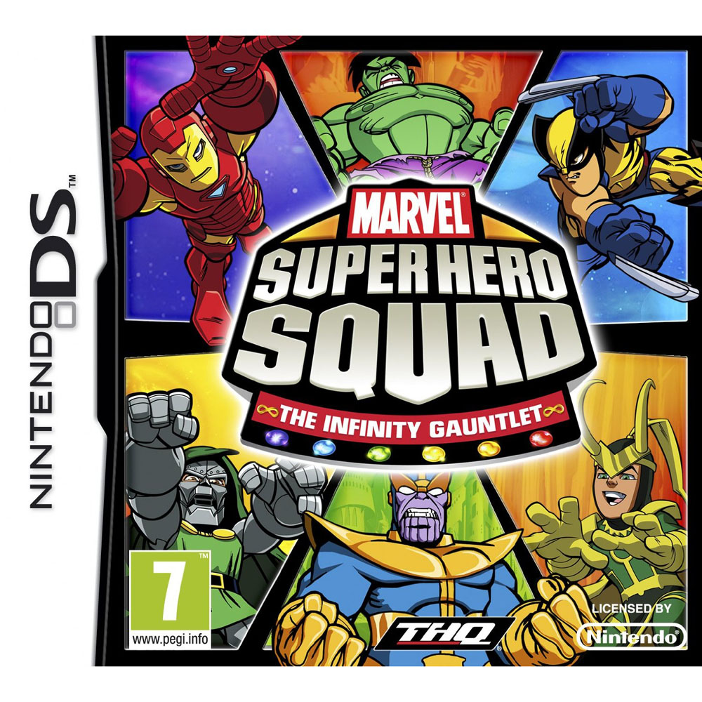 MARVEL SQUAD THE INFINITY GAUNTLET D