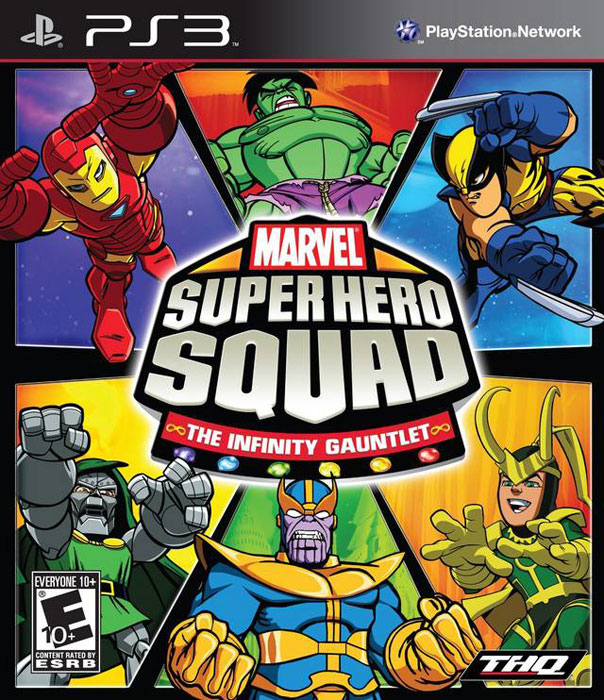 MARVEL SQUAD THE INFINITY GAUNTLET P