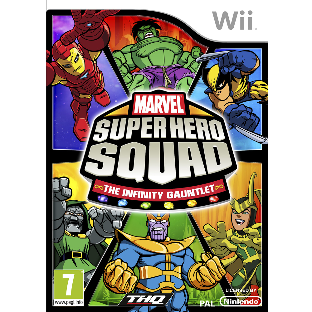 MARVEL SQUAD THE INFINITY GAUNTLET W