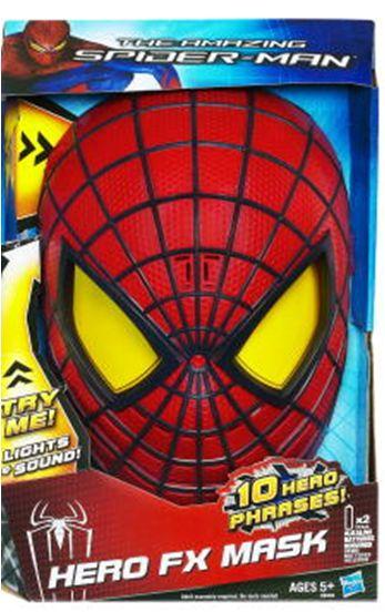 Masca Spider-Man, efecte speciale