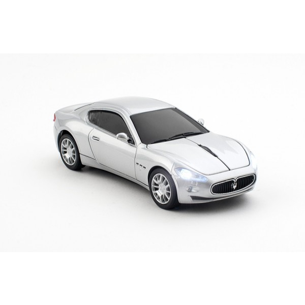 Mouse wireless Maserati Gran Turismo,argintiu