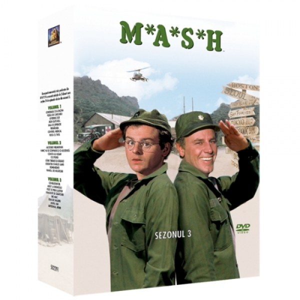 MASH - SERIA 3 (3 discu MASH - SEASON 3 (3 disc