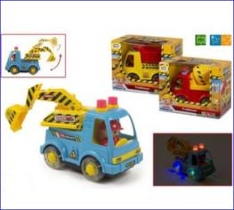 Masina ColorBaby,constructii,sunet,lumini