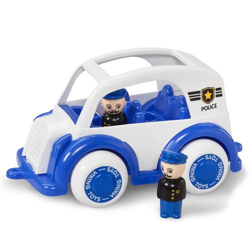Masina de politie cu 2 figurine