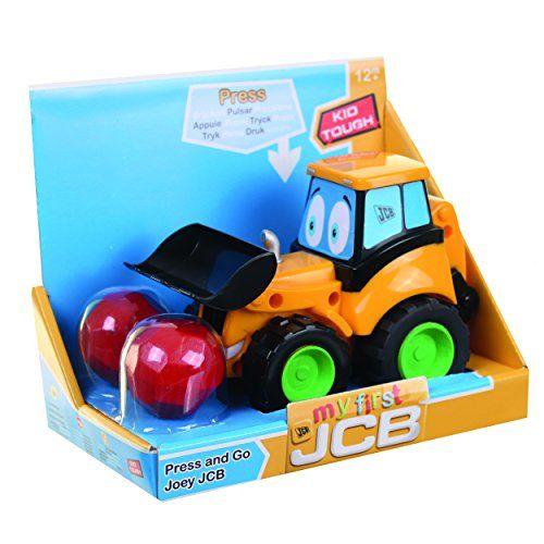 Masina JCB,apasa si merge,Joey