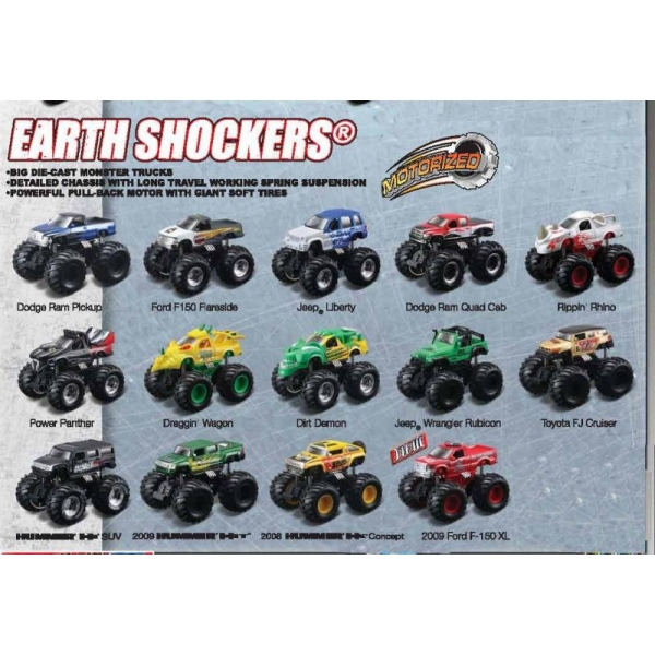 zzMasina Maisto Earth Shockers