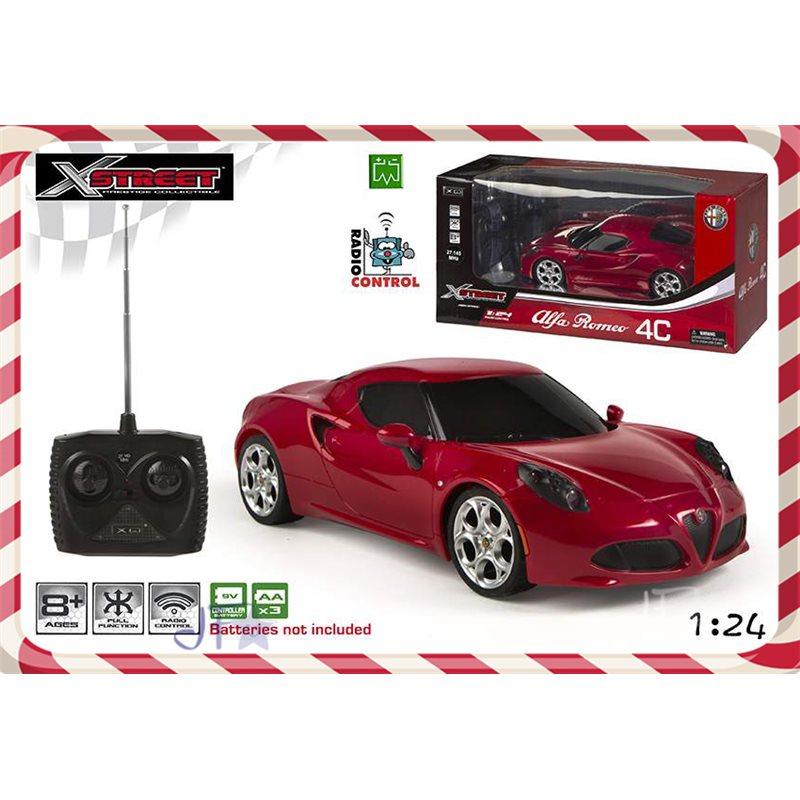 Masina RC,ColorBaby,Alfa Romeo,1:24