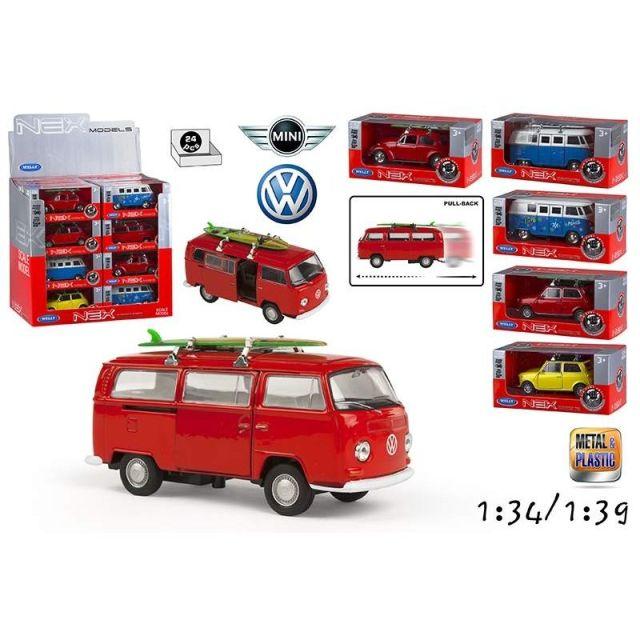 Masina Welly,Volkswagen Minnie,1:34
