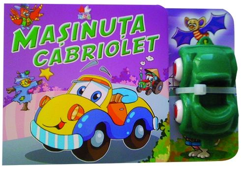 MASINUTA CABRIOLET CARTE CU JUCARIE