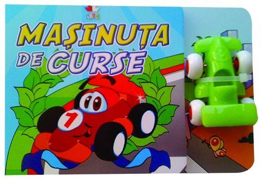 MASINUTA DE CURSE CARTE CU JUCARIE
