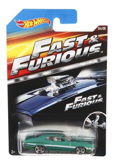 Masinuta Hot Wheels,Fast&Furious