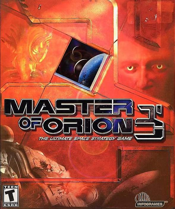 MASTERS OF ORION 3 PC