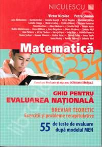 MATE GHID PT EVALUARE NATIONALA 55 TESTE