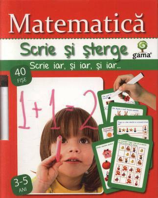 MATEMATICA 3-5 ANI/ SCRIE SI STERGE