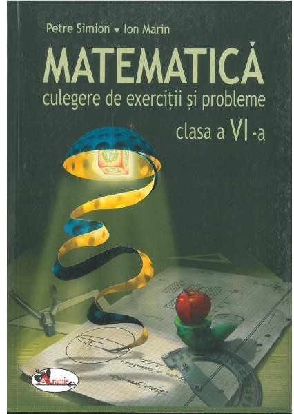 MATEMATICA CULEGERE CL. 6-Simion