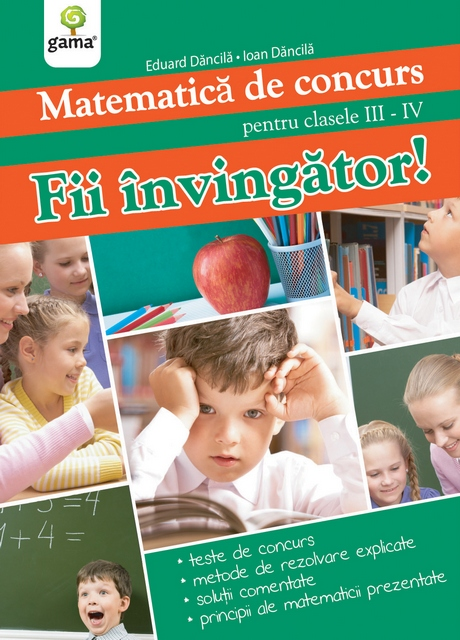 MATEMATICA DE CONCURS - FII INVINGATOR!