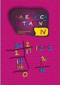 MATEMATICA DISTRACTIVA PENTRU CLASA A IV-A