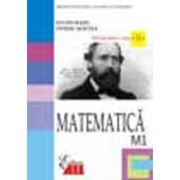 Matematica M1, Manual, Clasa a XII a, Eugen Radu, Ovidiu Sontea