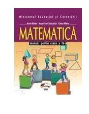 Matematica manual clasa a IV-a - Aurel Maior, Angelica Calugarita, Elena Maior