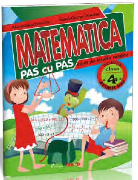 MATEMATICA PAS CU PAS CLASA 4