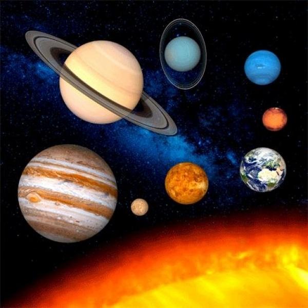 Maxivedere 3D, Sistemul Solar