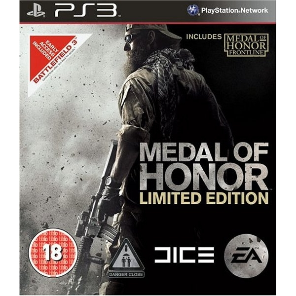 MEDAL OF HONOR LIMITED PS3
