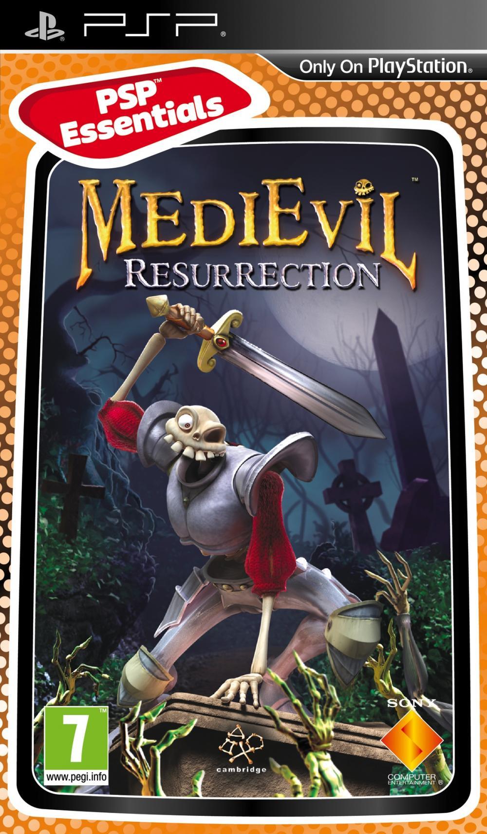 MEDIEVIL RESURRECTION ESSENTIALS - PSP