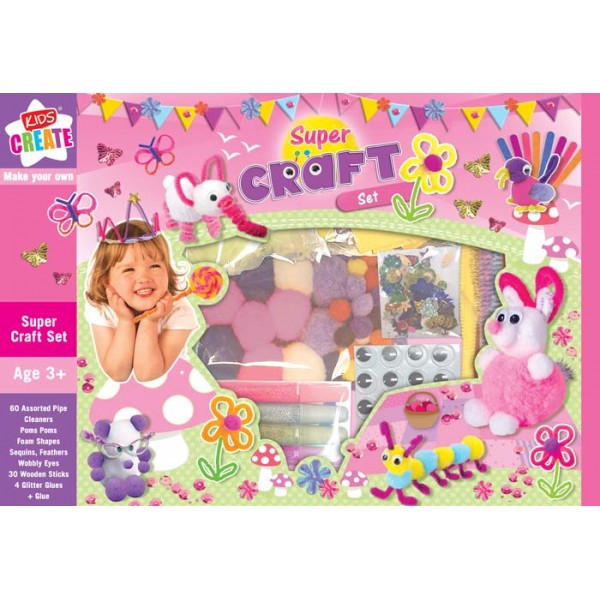 Set creativ Super craft set
