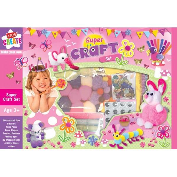 Set creativ Super craft set
