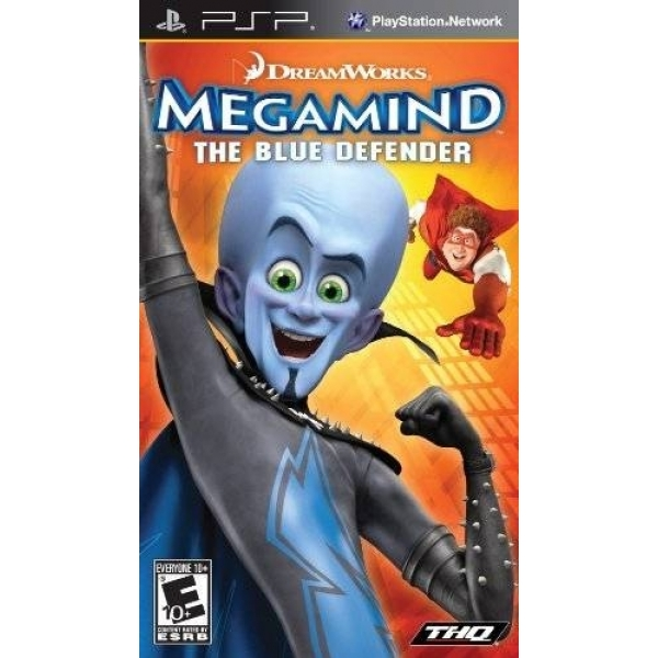 MEGAMIND - THE BLUE DEF PSP