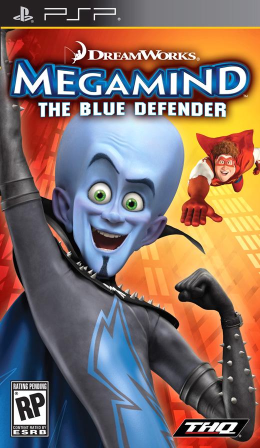 MEGAMIND - THE BLUE DEF XBOX360