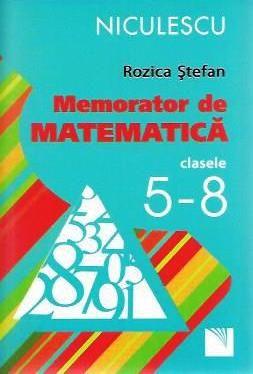 MEMORATOR DE MATEMATICA CLS 5-8