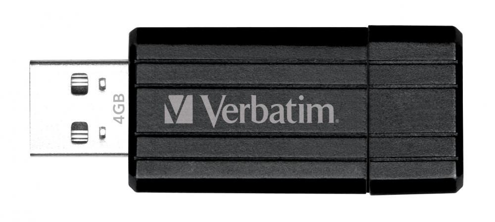 Memorie USB Verbatim Pi nstripe 4GB Blk