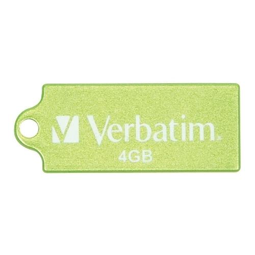 zzMemorie USB Verbatim Pi nstripe 4GB Green