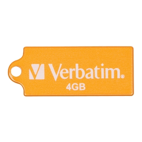 zzMemorie USB Verbatim Pi nstripe 4GB Orng